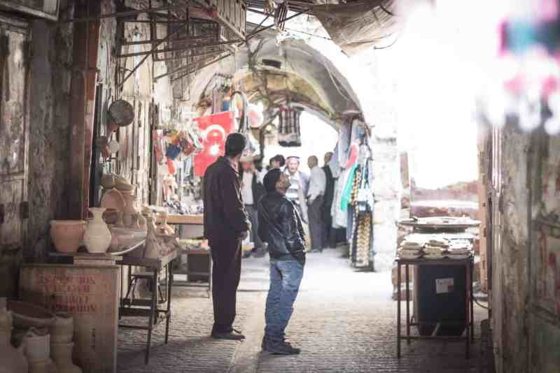The contentious city of Hebron in the West Bank.
