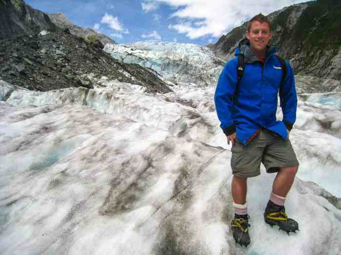 Hiking the Franz Josef Glacier in New Zealand