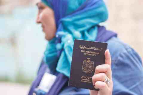 "Palestinian ""Passport"""
