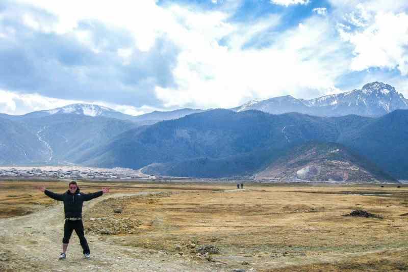 The remote plains on the border of Tibet, aka Shangri-La.