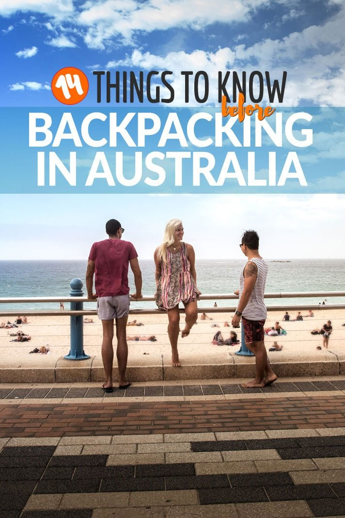 14 Things to Know Before Backpacking in Australia