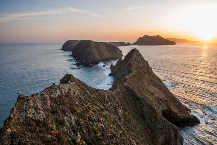 Inspiration Point on Anacapa Island, Channel Islands National Park, California