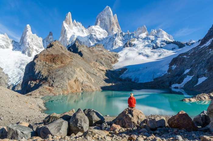 Mount Fitz Roy in the Southern Patagonian Ice Field
