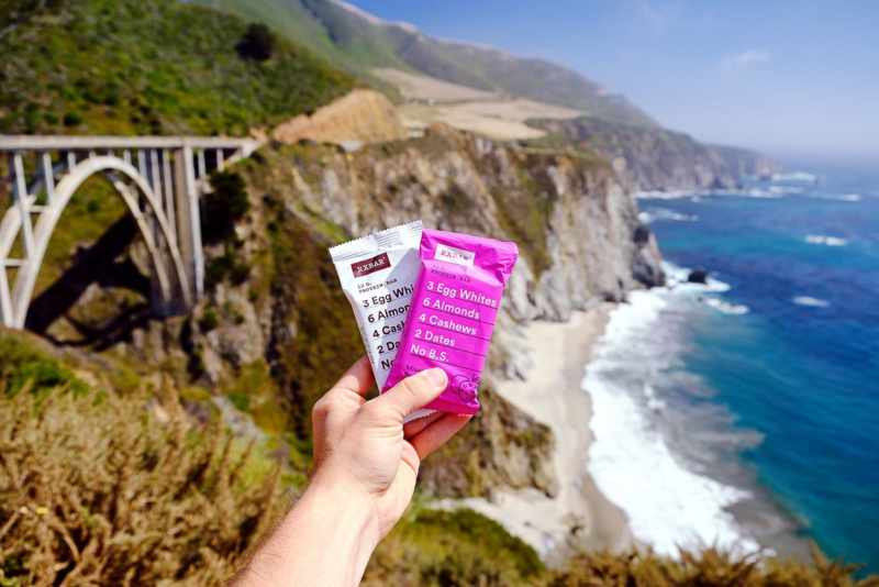 RXBARs are a great way to eat healthy on the go.