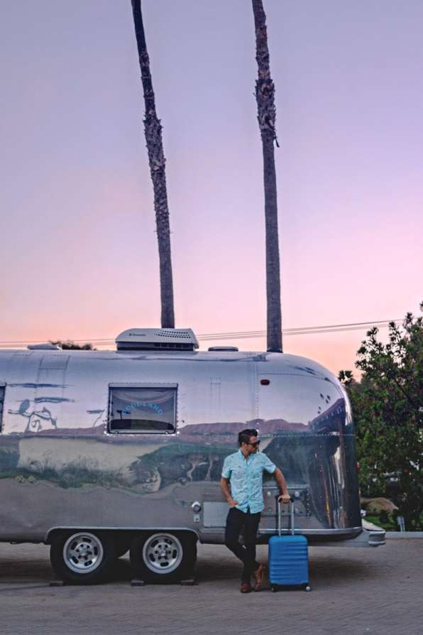 Found a sweet Airstream on my Pacific Coast Highway road trip