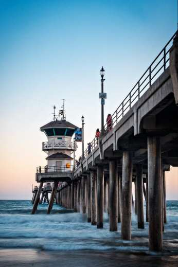 Huntington Beach Pier is a must stop on your Pacific Coast Highway road trip