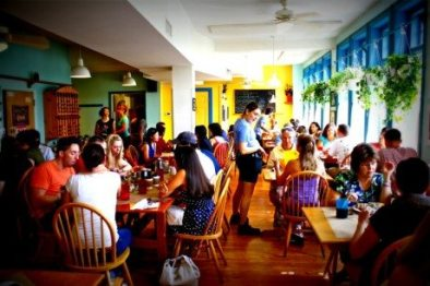 Inside the Early Girl Eatery