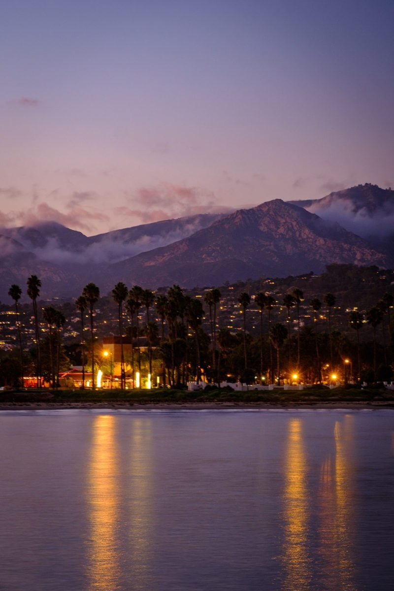 The mountains of Santa Barbara