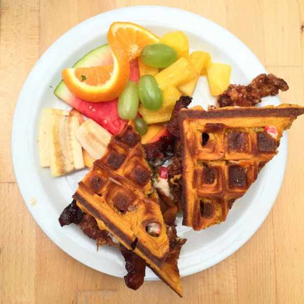 Sunny Point Cafe has the best brunch in Asheville!