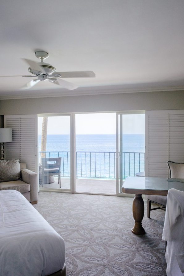 The room at Surf and Sand in Laguna Beach