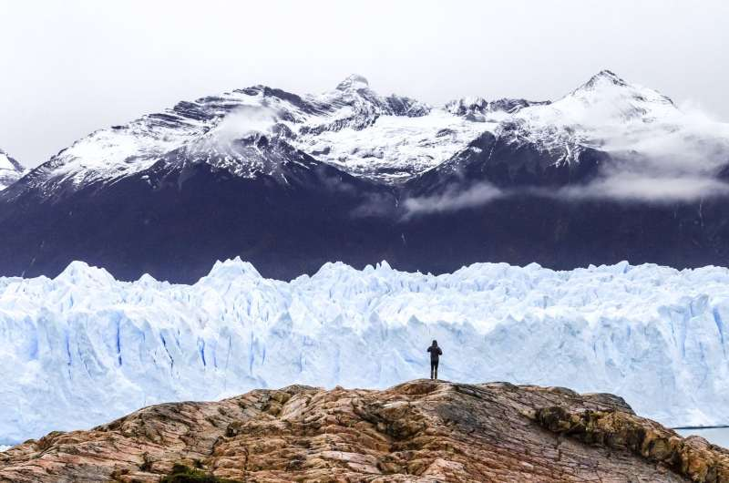 The Perito Moreno Glacier in Patagonia
