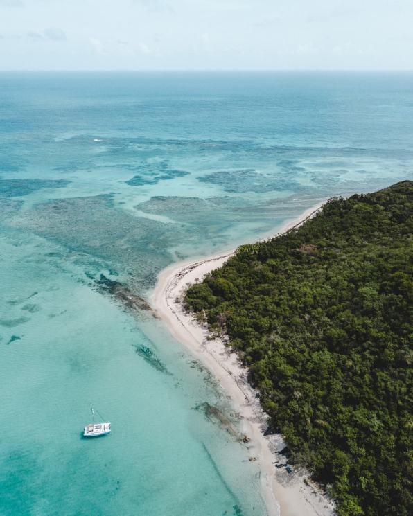 Buck Island Aerial