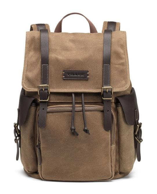 Trask Bridger Trail Waxed-Cotton Rucksack makes a unique gift idea for men who travel