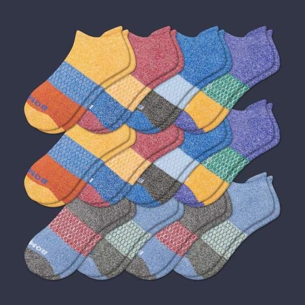 Colorful Bombas socks for men
