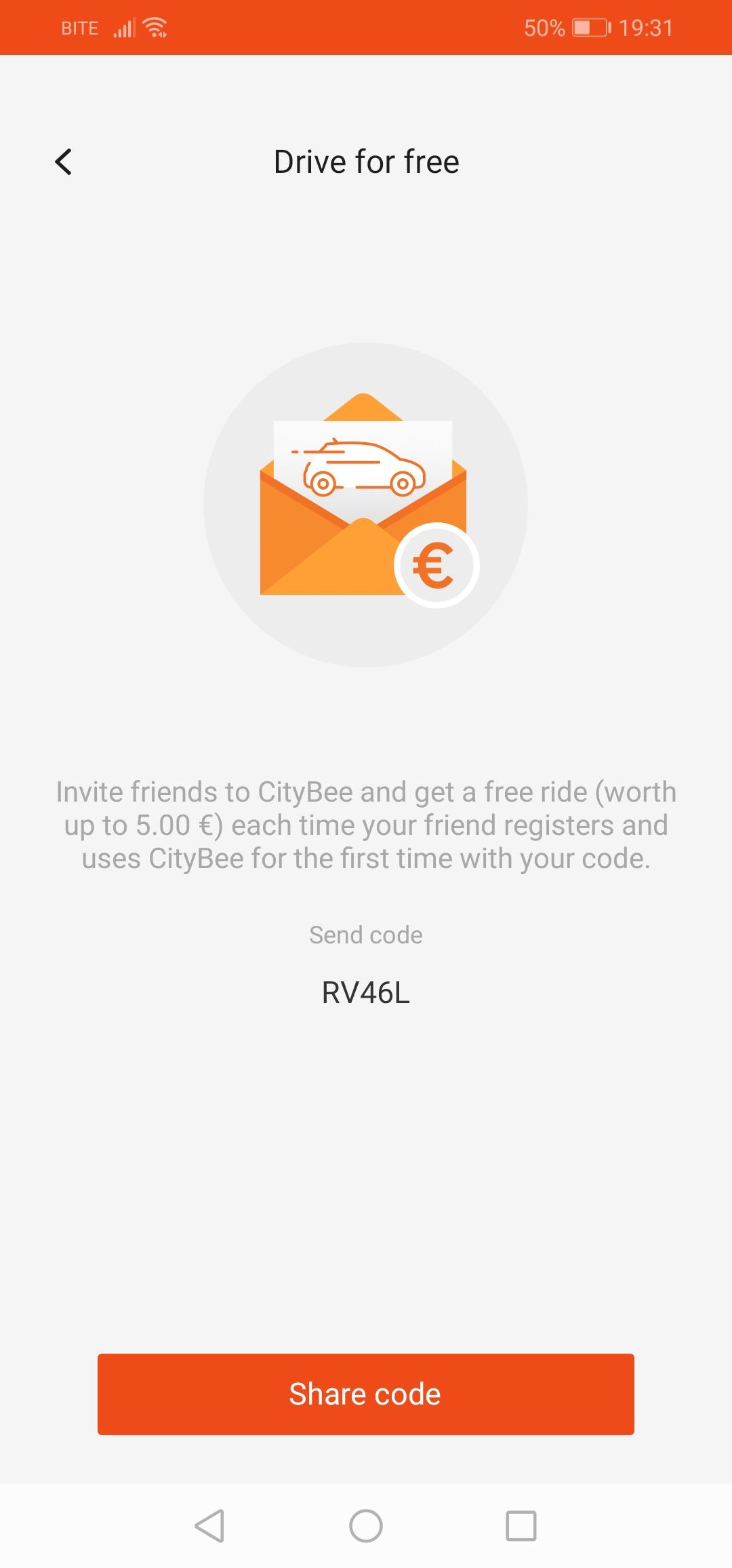 citybee promo code 2019