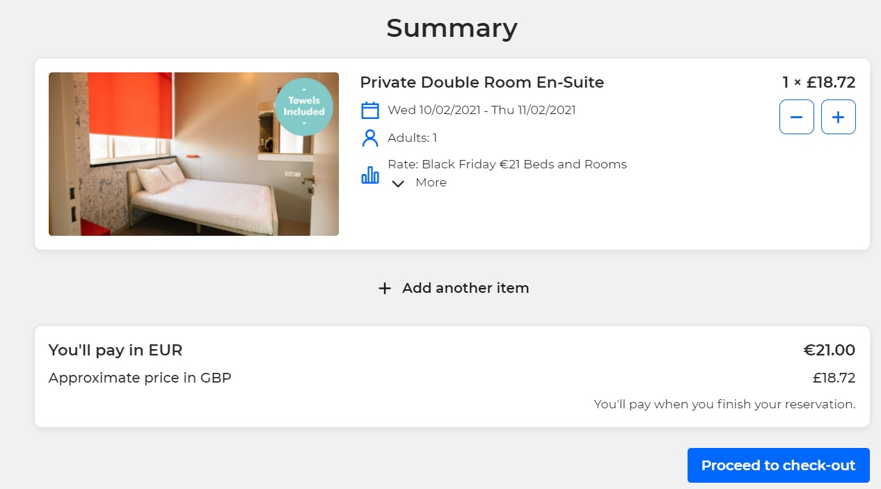 Clink Hostels Black Friday SALE 2020