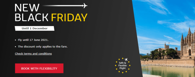 iberia black friday sale 2020