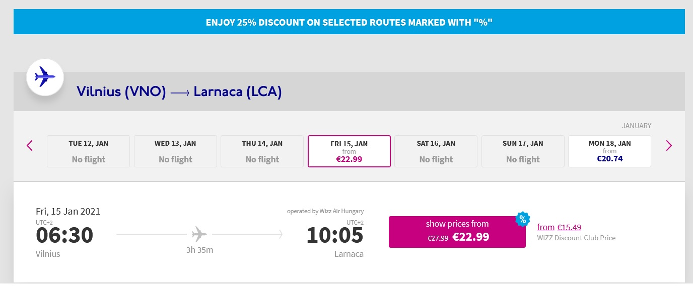 wizz air cyber monday sale 2020