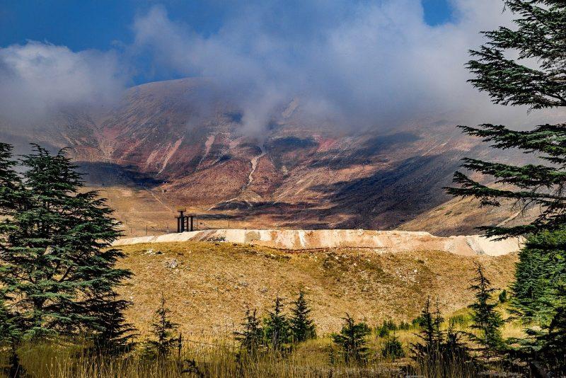 The Lebanon Mountain Trail, Lebanon