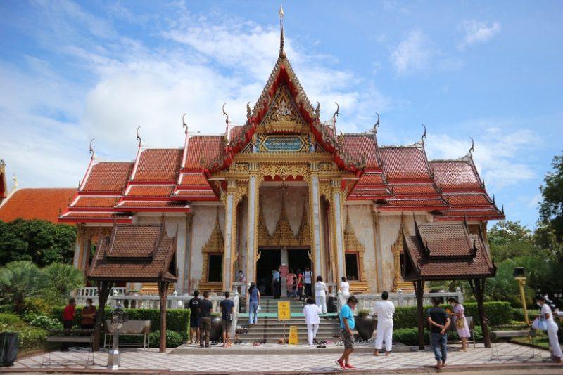 Marvel at Wat Chalong