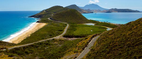 coastline-of-Saint Kitts