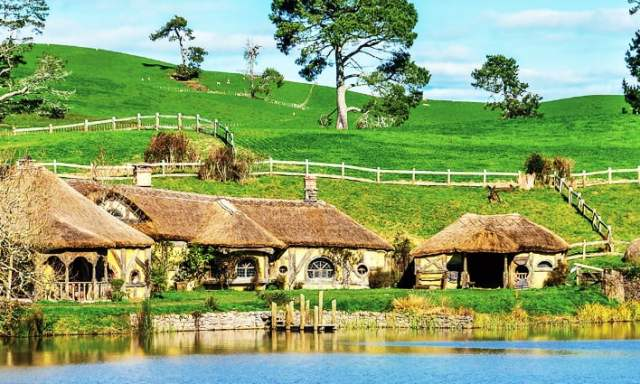 Hobbitown is an actual place