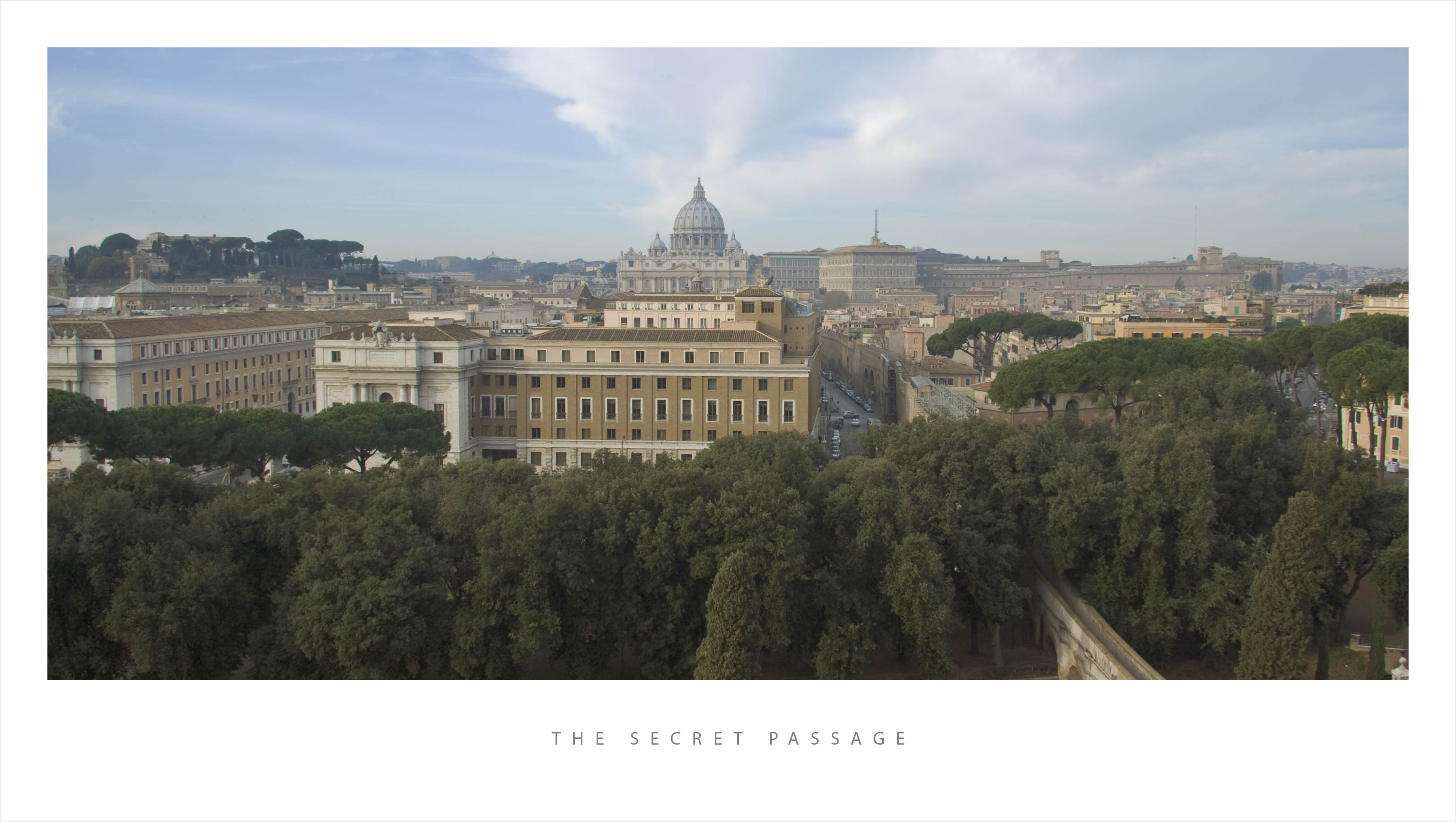 """""""Секретный"""" проход из замка св.Ангела в Ватикан"""