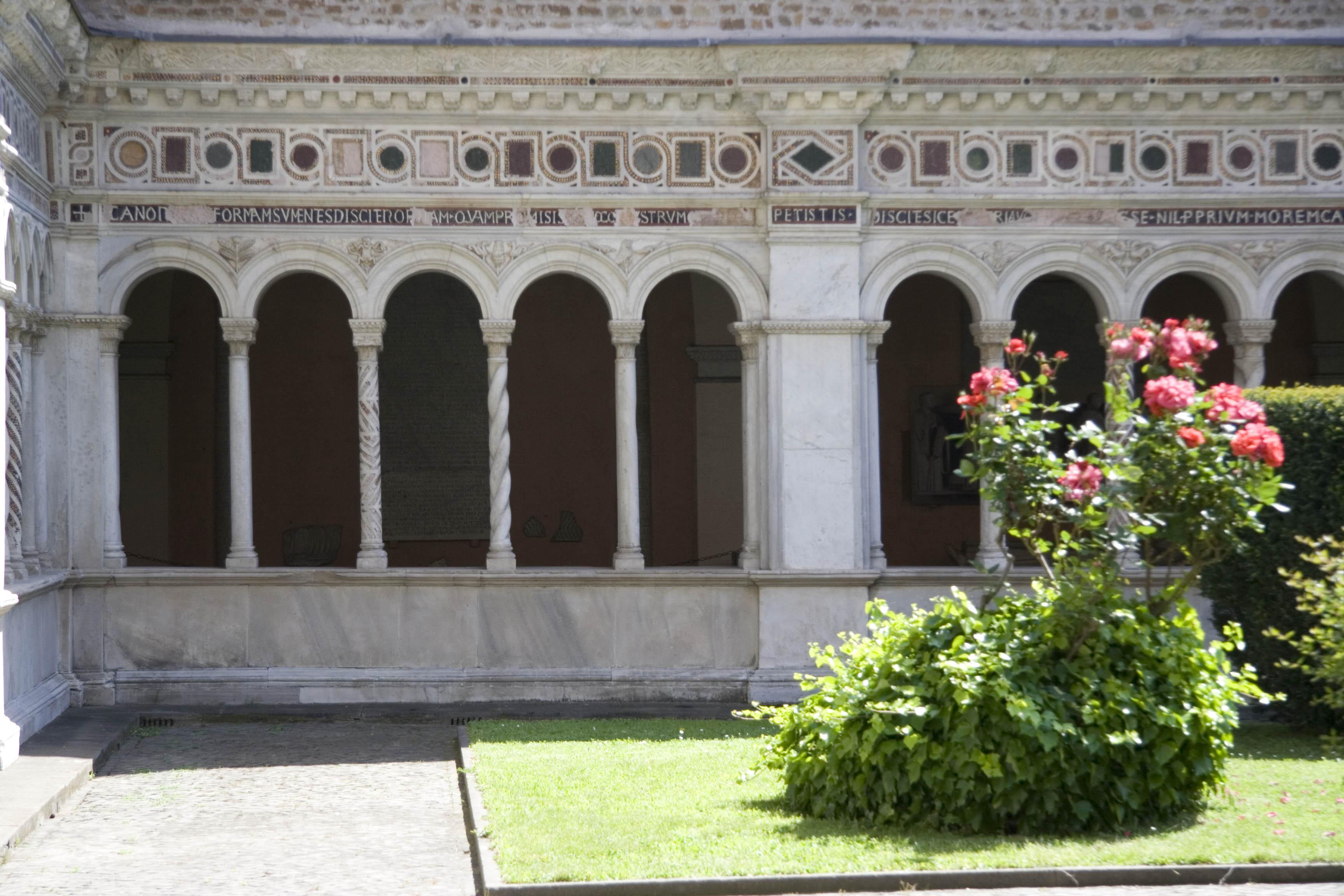 Клуатр в Латеранском соборе