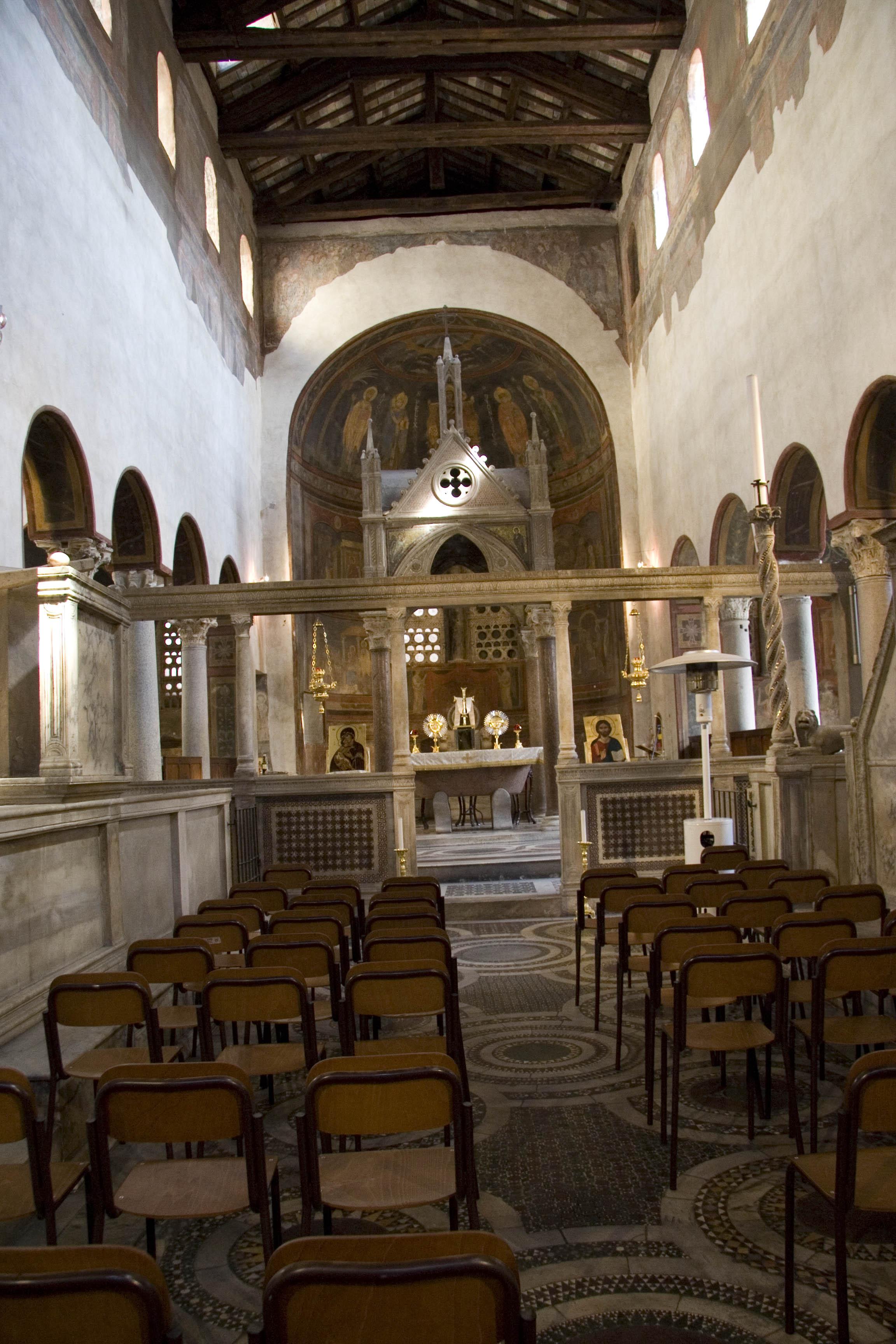 Православные иконы в Санта-Мария-ин-Космедин