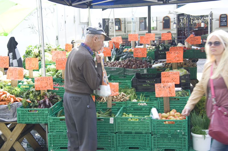 Рынок в Кристиансанде