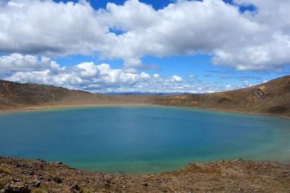 Blue Lake, Tongariro Alpine Crossing, New Zealand