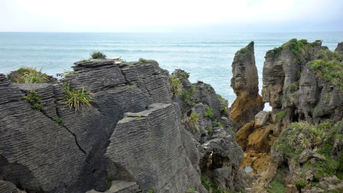 Punakaiki Pancake Rocks and Blowholes, New Zealand