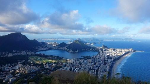 View from Twin Brothers Mountain, Rio de Janeiro, Brazil
