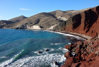 The Red Beach, Santorini, Greece