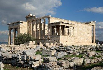 The Erechtheion, The Acropolis, Athens, Greece