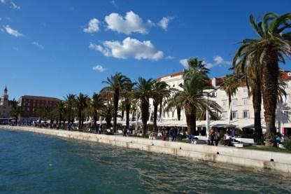 Promenade Riva, Split