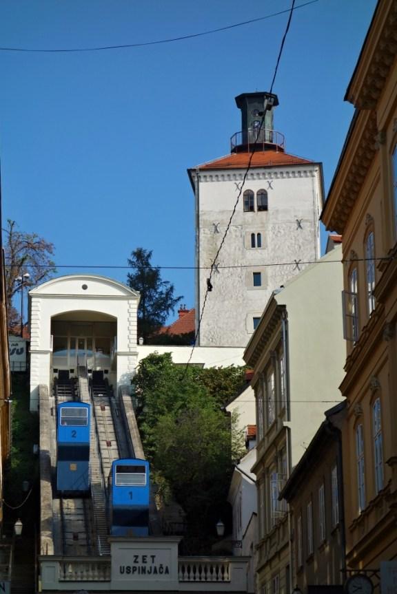 Funicular, Zagreb