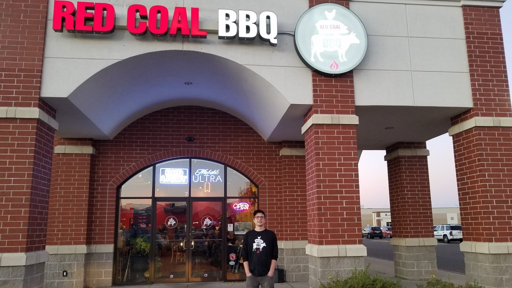red coal bbq owner