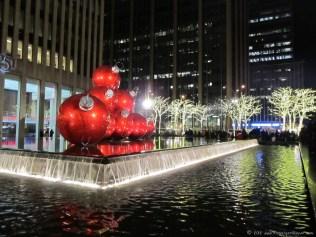 NYC holiday lights