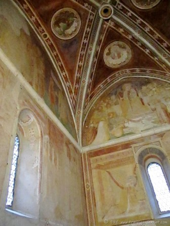 Frescos by the Sienese painter Ambrogio Lorenzetti