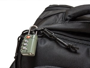 Tortuga Backpack Lockable Zippers
