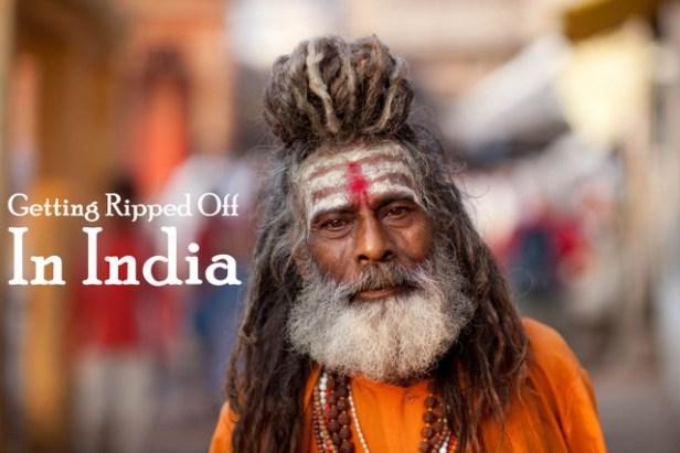 Holy men scam india