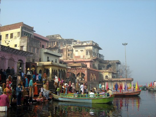 Boat ride Mathura