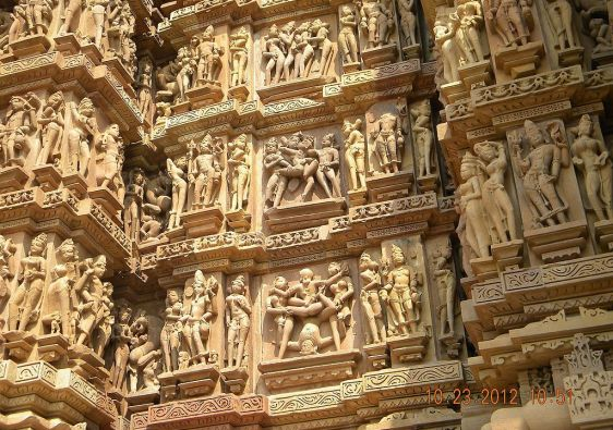 Khajuraho Temple Carving