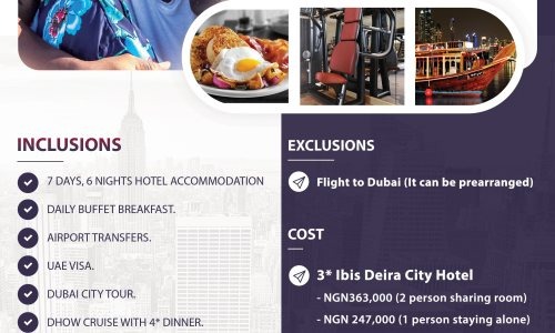 dubai vacation package