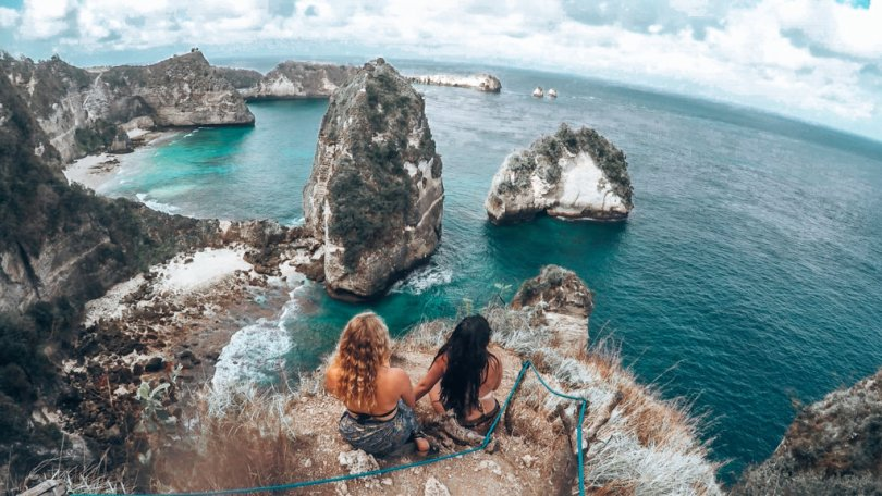 Gorgeous view of Nusa Penida Island.