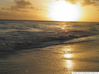Sunset at Rockley/Accra Beach