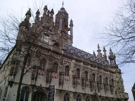 Stadhuis in Middelburg