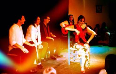 Espectáculo de flamenco Kelipé TGT