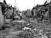 african-slum BW